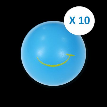 "Pack ""10 Balles Bleues"""