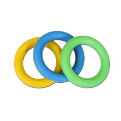 matériel de sport adapté, anneaux souples