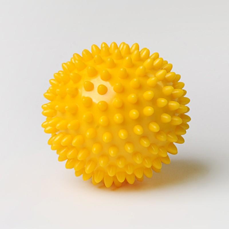 Balle picot, massage, proprioception.