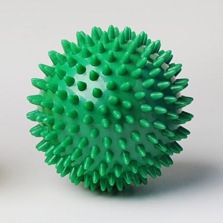 Balle de massage à picot - verte 9 cm