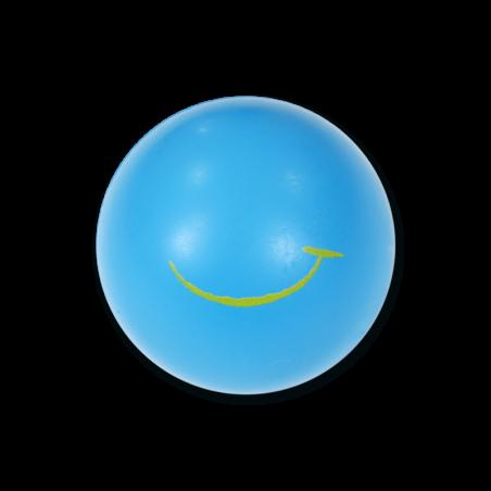Balle en mousse - bleue moyennement souple