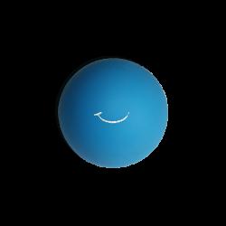 Balle souple - bleue