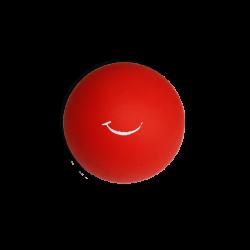 Balle souple - rouge