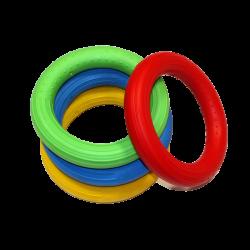 4 anneaux souples, gym douce, sensoriel