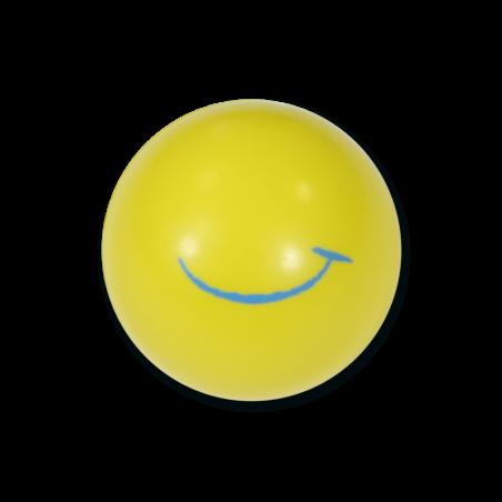 Balle en mousse - jaune très souple